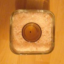 DIY Himalayan Salt Candle Holder