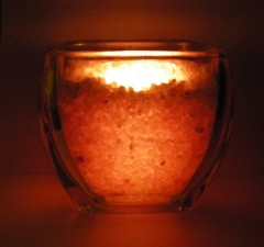 DIY Himalayan Salt Candleholder Project
